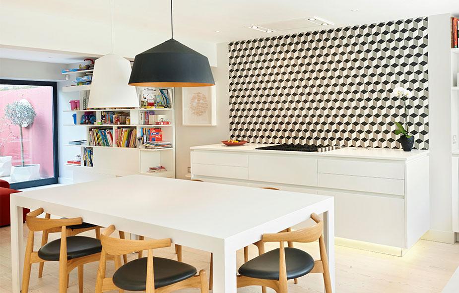 Residenza privata - Wigmore Uk - Progetto  Boffi