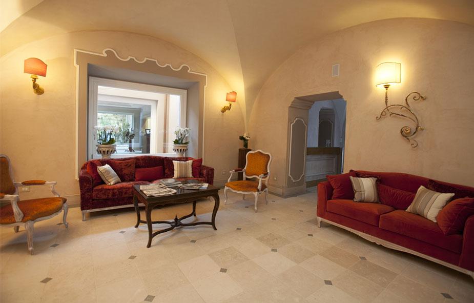Hotel Villa Lattanzi - Interior design Aroldo Brenno Tofoni - Ph. Bros Manifatture