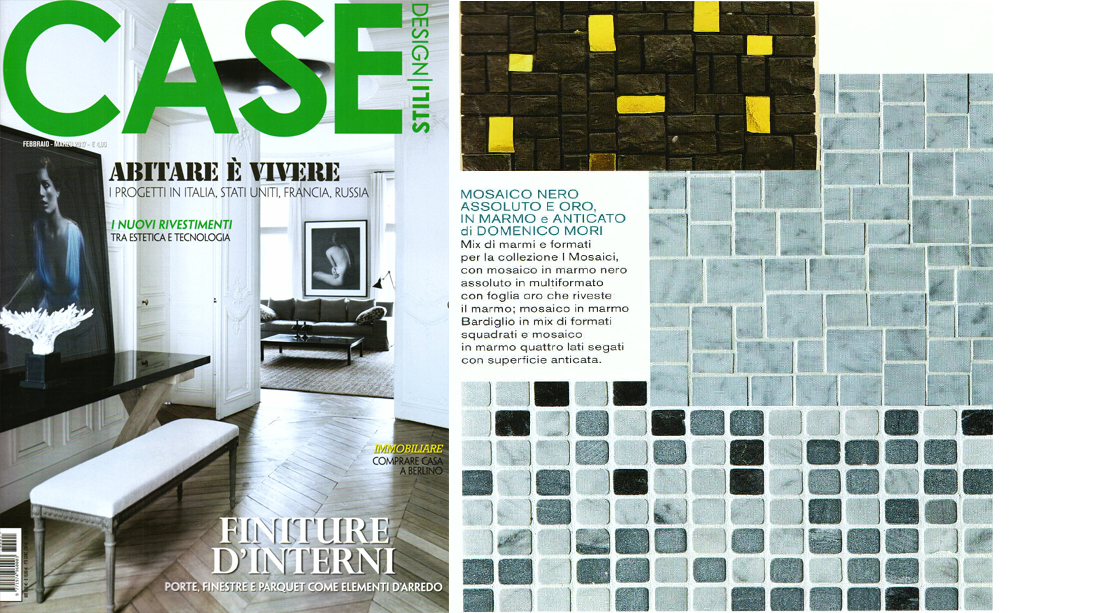Case design stili magazine devotes an editorial to for Stili case