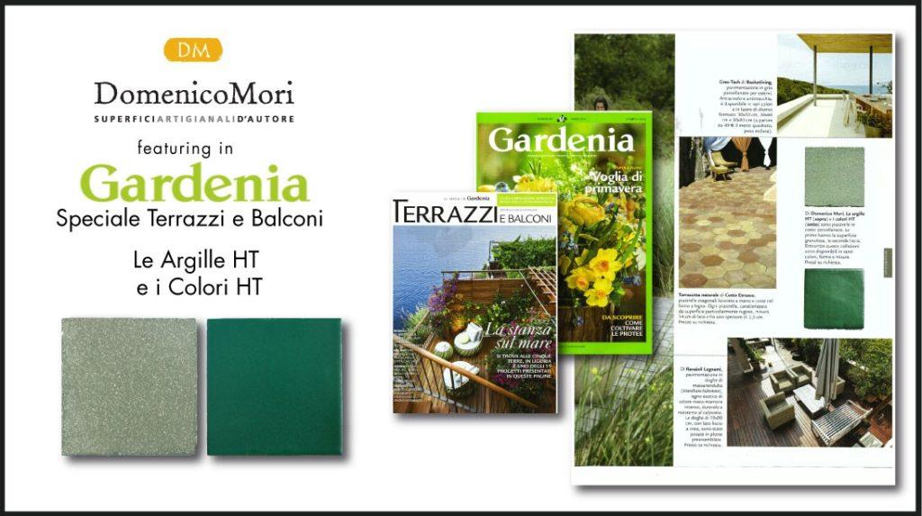 GARDENIA - COLORI E ARGILLE HT DOMENICO MORI