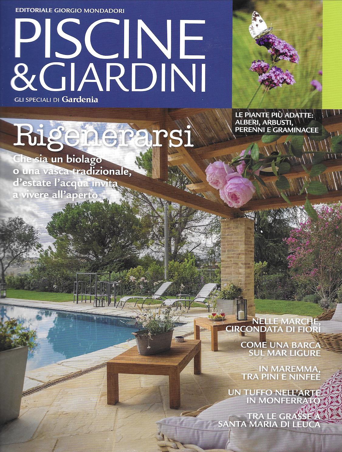 Domenico Mori in Gardenia Piscine & Giardini Luglio 2021 - 1